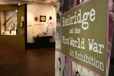 Redbridge and the First World War exhibition
