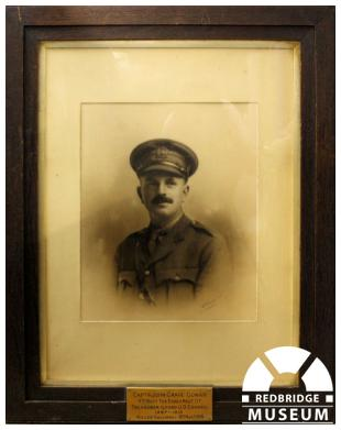 John Grave Gowan Memorial Picture. Photo by Redbridge Museum.