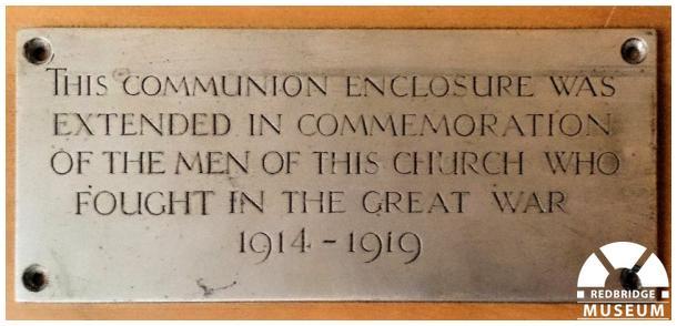 Ilford High Road Methodist Church Dedication. Photo by Martin Fairhurst.
