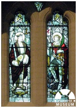 Samuel Robert Dudley Memorial Windows. Photo by Pat O'Mara.
