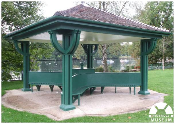 Horace Cowlin Memorial Shelter. Photo by Frances Speakman.