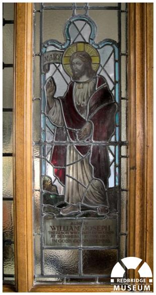William Joseph Whyte Memorial Window. Photo by Trevor Cottrell.