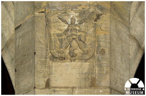 William John Henry Pain Memorial Shield. Photo by Redbridge Museum.