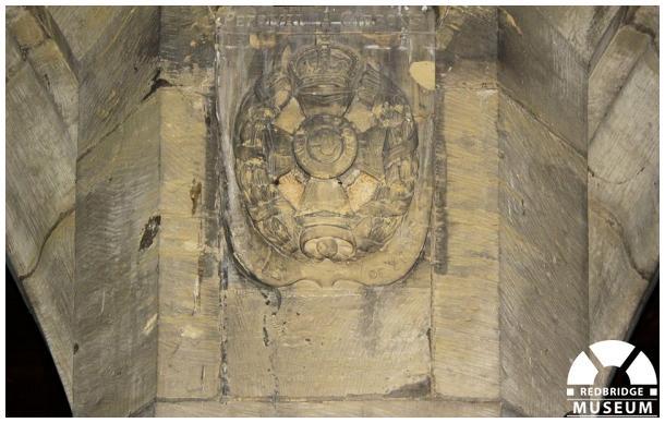 Percival Angus Gibbons Memorial Shield. Photo by Redbridge Museum.