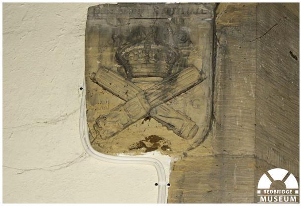 Benjamin A Hall Memorial Shield. Photo by Redbridge Museum.