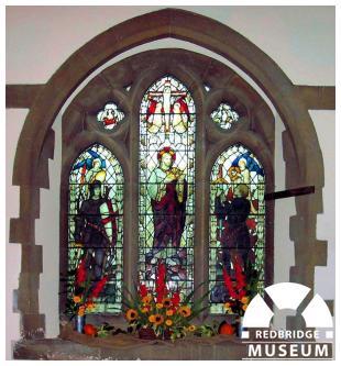 All Saint's Church Memorial Windows. Photo by Adrian Lee.