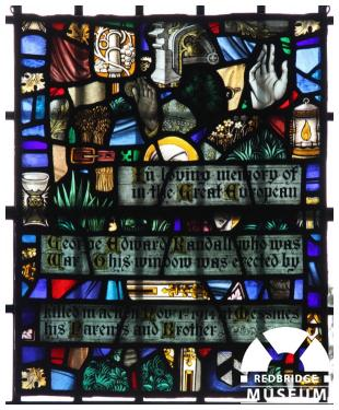 George E Randall Memorial Windows. Photo by Howard Anderson.