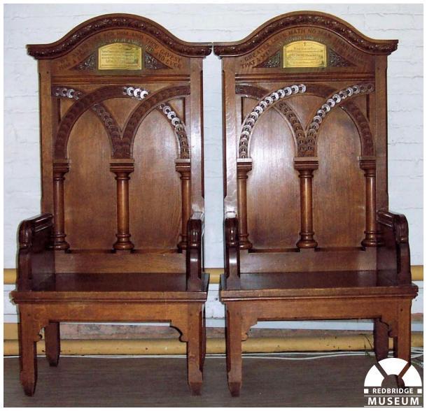 Herbert Heritage Memorial Chairs. Photo by Adrian Lee.