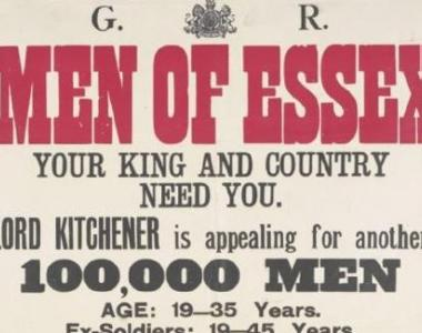 Essex Regiment recruitment poster
