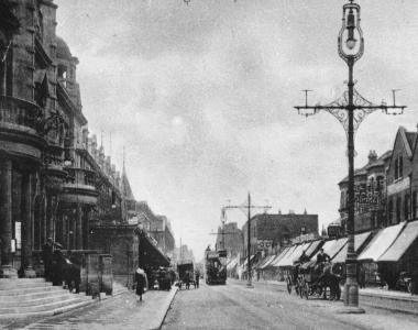 Ilford High Road, about 1905