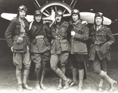 'B' Flight, 44 Squadron, Royal Flying Corps, Hainault Farm, 1918