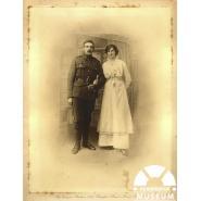 William White on his Wedding Day, 26 April 1915 © Courtesy of William White's daughter, Alice White