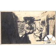 William White in a support line trench before the battle of Gaza, Palestine, July 1917 © Courtesy of William White's daughter, Alice White
