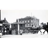 George Lane (South Woodford) Railway Station, about 1920. © Redbridge Information & Heritage P11936