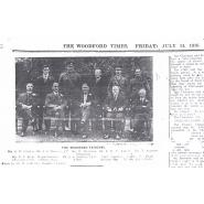 Woodford Military Tribunal Members. © Redbridge Information & Heritage, printed in the Woodford Times 14 July 1916