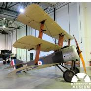 Sopwith Triplane built at Ilford Aeroplane Works. © Redbridge Information & Heritage In Ilford Hill, a skating rink was converted into an aeroplane factory in June 1916. It had orders to make twenty-five Sopwith Triplanes.  However, only three were completed by October 1917 before the order was cancelled. One of these rare Ilford-made machines is on display in the Royal Air Force Museum in Hendon.
